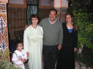 Lokale familie in Taroudant