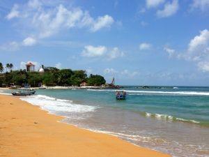 Unawatuna strand tijdens je reis Sri Lanka met kinderen