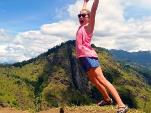 treinreis Sri Lanka met kinderen - jump Little Adam's Peak