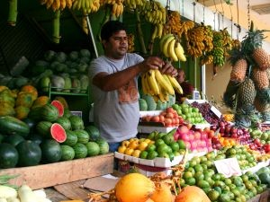 Sri Lanka praktische informatie - fruit op lokale markt