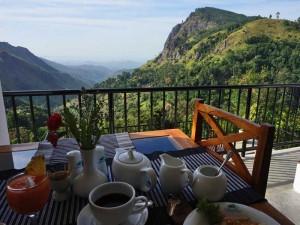 overnachten Sri Lanka met kinderen - ontbijt in Ella