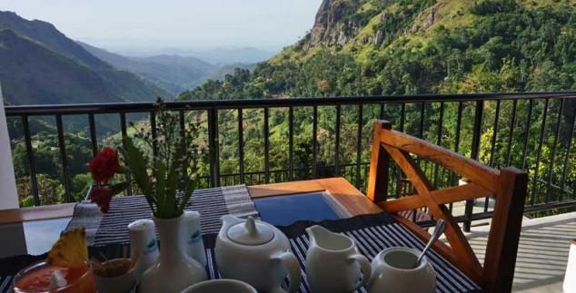 2 weken Sri Lanka met kinderen - ontbijt ella