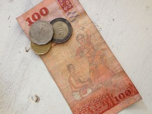 Sri Lanka geld en visum - Rupee