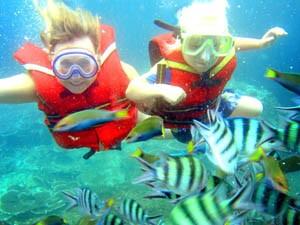 Riksja Family Sri Lanka: snorkelen