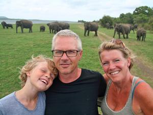 Sri Lanka met kinderen - safari gezin