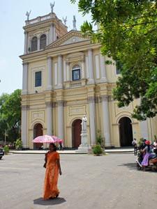 Sri Lanka klimaat - parasol tegen de zon