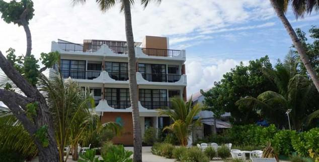 Malediven met kinderen - budget hotel