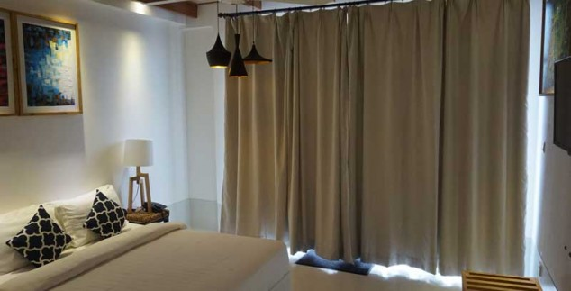 Malediven met kids - budget hotel kamer