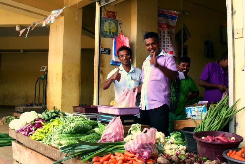 Rondreizen Sri Lanka - markt in Kandy