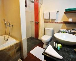Comfort stay resorteiland badkamer - Maladiven met kids