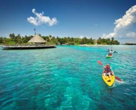 Comfort stay resorteiland - Maladiven kayak met kids