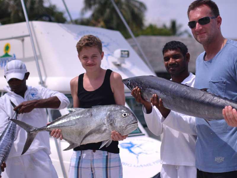 Comfort stay resorteiland - Maladiven met kids vissen