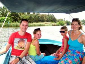 3 weken Sri Lanka met kinderen - in de lagune