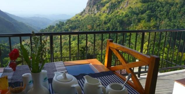 Treinreis Sri Lanka Kids - Ella hotel ontbijt