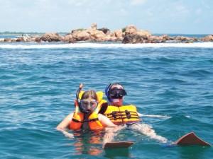 Familiereis Sri Lanka - snorkelen