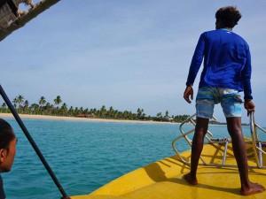 snorkelen Sri Lanka Kids - boot
