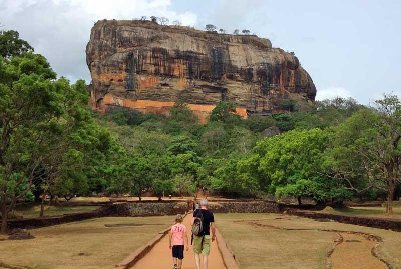 Sri Lanka vakantie met kinderen - Sigiriya