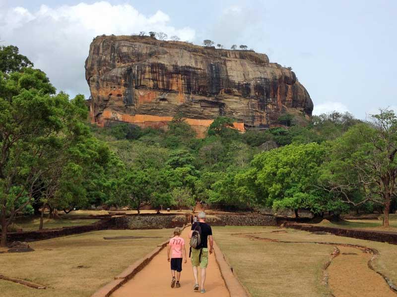 Rotstempel Sri Lanka Kids - Sigiriya