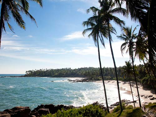 Schildpadden Sri Lanka met kinderen - strand Tangalle