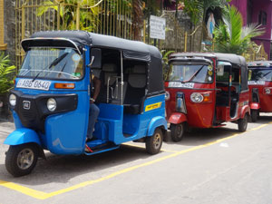tuk tuk tour Colombo Sri Lanka