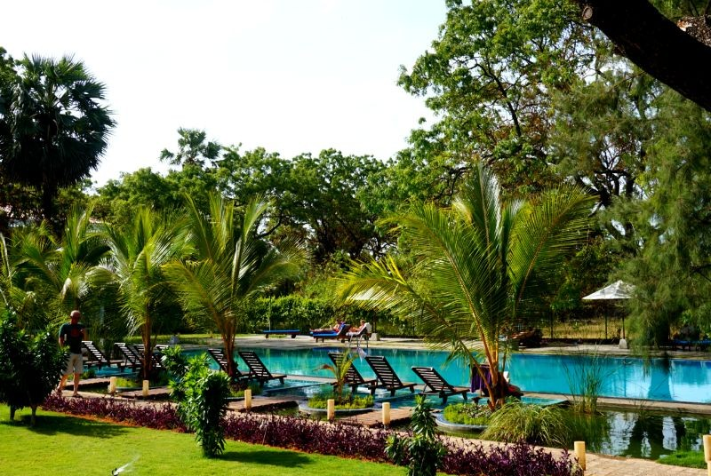 Familiereis Sri Lanka - Uppuveli zwembad