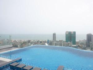 Comfort stay Colombo Sri Lanka - zeezicht