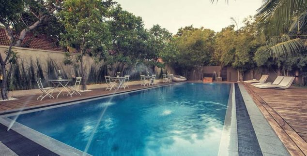 Negombo Sri Lanka Kids - zwembad hotel