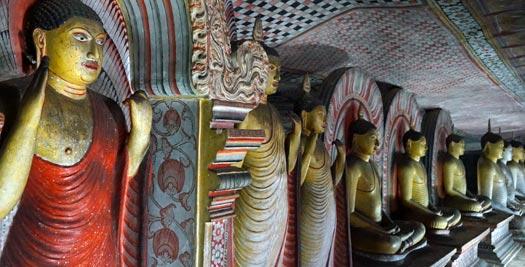 Rondreis Sri Lanka - Boeddha beelden