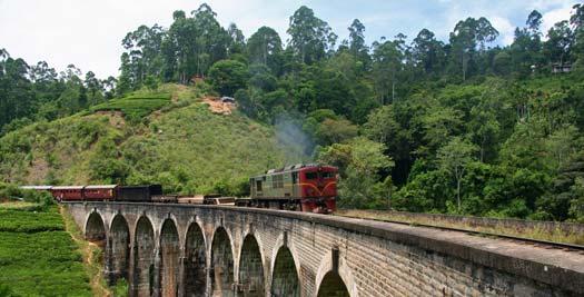 Rondreis Sri Lanka - spoorlijn