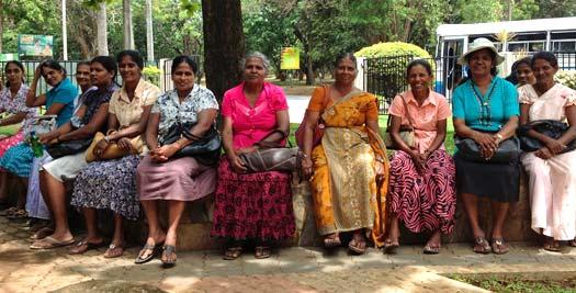 Ontmoetingen in Sri Lanka