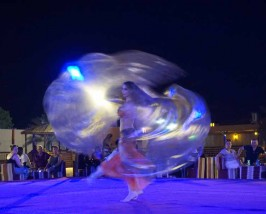 Optionele woestijnsafari buikdanseres- Dubai met kinderen