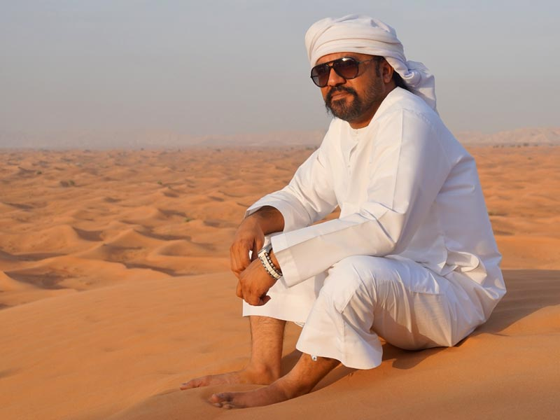 Dubai met kinderen - jeepsafari