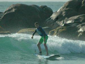 Riksja Family Sri Lanka: surfen