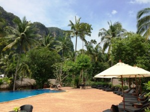 Pool in Ao Nang
