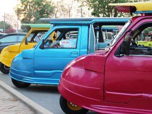Tuk Tuk Fahren in Thailand