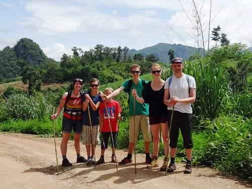 MIt der Familie unterwegs quer durch Thailand