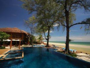 Pool und Strand in Thailand