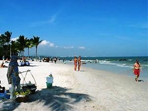 Der Strand von Hua Hin