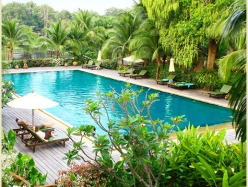 Kanchanaburi Hotelpool