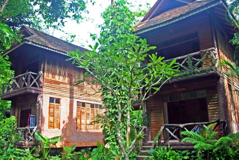 Dschungellodge im Khao Sok Nationalpark