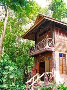Umterkunft in der Dschungel-Lodge im Khao Sok