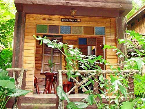 Dschungel-Lodge im Khao Sok