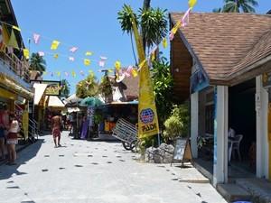 Das Zentrum von Koh Phi Phi