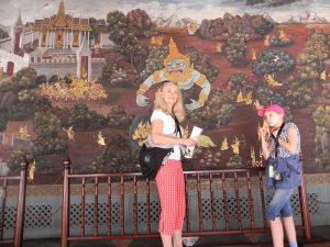 Reisespezialistin Mechtild in Bangkok