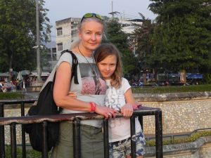 Reisespezialistin Mechtild in Thailand