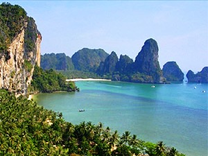 Thailand Highlights: Strand auf Railay Bay