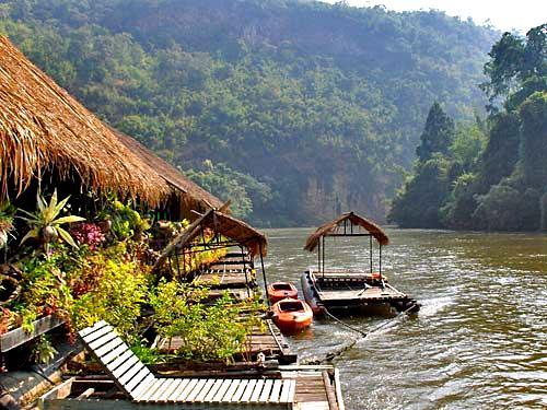 Thailand Sehenswürdigkeiten: Der River Kwai