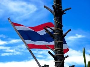 Die thailändische Flagge