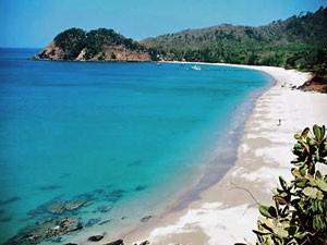 Blick auf den Strand von Koh Lanta