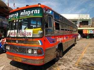 Reisebus nach Bangkok